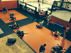 No-Gi Jiu Jitsu Class at the Academy of Combat Arts